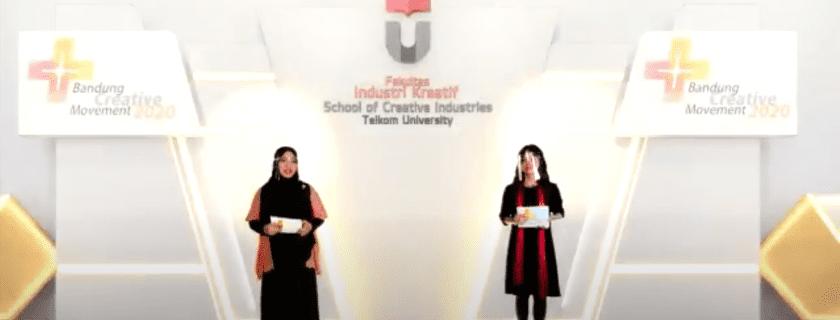 Pandemi, Bandung Creative Movement (BCM) Ke-7 Kembali di Gelar Fakultas Industri Kreatif Tel-U secara Virtual